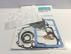 Kubota Engine Lower Gasket Kit 0791625055