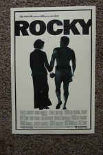 Rocky Movie poster Lobby #2 Sylvester Stallone Carl Wethers Burgess Meredith