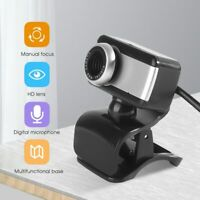 USB2.0 HD Webcam Camera With Microphone For PC Laptop Computer Desktop Rotatable