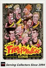 2015 AFL Champions Firepower Caricature Card Checklist (2013-2015)-Richmond