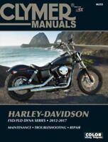 2012-2017 Harley Davidson FXD FLD Dyna Fat Street Bob CLYMER REPAIR MANUAL M255