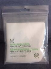 The Body Shop Luxury Facial Flannel 1 Count - New In Package (Rare)