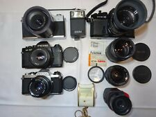 4x Fotokamera, Pentax, Petri Praktica ,Porstreflex, Teleobjektive, Objektive