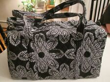 VERA BRADLEY Small Duffel BLANCO BOQUET Quilted Luggage Travel Bag 15827-G07 NWT