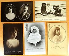 5 Postcards Princess Mafalda Savoia Italy Royalty Buchenwald Concentration Camp