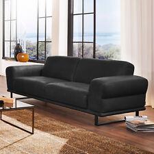 Sofa Montanaa 2-Sitzer Leder schwarz inkl. Nosagfederung 232 cm Willi Schillig