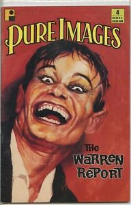 Pure Images 1990 series # 4 very good comic book