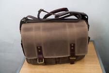 Ona The Astoria Messenger Camera Bag Field Tan Waxed Canvas