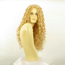 length wig for women curly light blond golden ref: eva lg26 PERUK