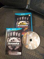 Brunswick Pro Bowling (Nintendo Wii U, 2015)