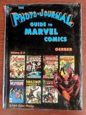 Photo-Journal Guide to Marvel Comics Hardcover V4 K-Z Photos NM - HC !!+