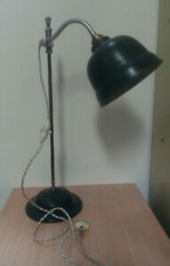 Ancienne lampe de bureau , monte et baisse