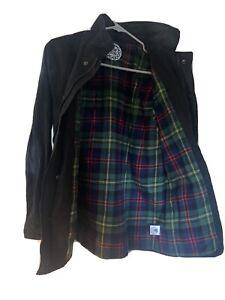Drop Dead Tartan Wax Jacket Size S