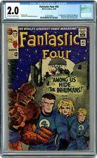 Fantastic Four #45 CGC 2.0 1st app. Inhumans and Fantastic Four 97 CGC 7.0