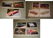 11 prints, Jaguar, Lotus Elan, MG TC, Jensen, Bentley, Aston-Martin, Austin etc.