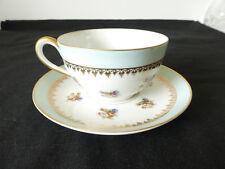 Dejeuner tasse et sous-tasse en porcelaine de LIMOGES