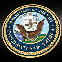 Department Of The Navy Circle - Sticker
