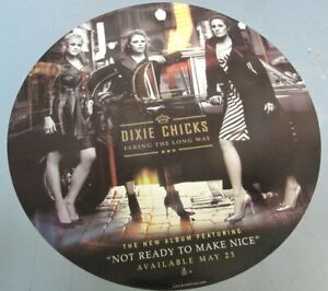 Dixie Chicks 2006 Long Way Promotional Cling Sticker Flawless NEW old stock