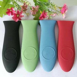 Pot Holder For Skillet Handle Cast Iron Hot Fry Pan Cover Silicone Rubber Covers