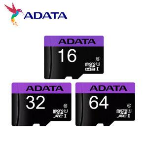 ADATA Premier microSD 16GB 32GB 64GB SDHC/SDXC C10 UHS-I U1 Memory Card +AD