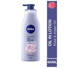 Nivea Oil In Lotion Rose & Argan Oil 400 ml Free Shipping