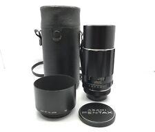 Asahi Pentax Super-Takumar 200mm f/4 Lens M42 Mount W/Case & Hood (2070778)