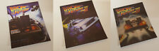 BACK TO THE FUTURE TRILOGY 1 2 3 Lenticular 3D Magnet Cover FOR bluray steelbook