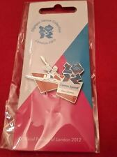 Olympics London 2012 Venue Sports Logo Pose Pin - Canoe Sprint