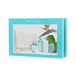 NIB Designer BVGALRI OMNIA Paraiba Womens 5 Piece Perfume Gift Set