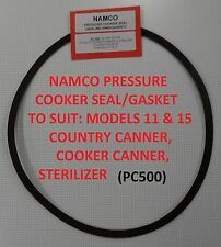 Namco Pressure Cooker Seal PC500 COOKER & COUNTRY CANNER, STERILIZER, MOD  11/15