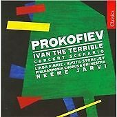 Prokofiev: Ivan The Terrible, Jarvi,Philharmonia Choir & Orche, Audio CD, New, F