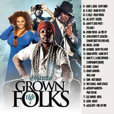 DJ ANT LO GROWN FOLKS SOUL & R&B CLASSICS MIX CD VOL 7