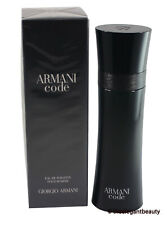 Armani Code by Giorgio Armani for Men Edt 4.2oz/125ml Spray New In Box