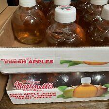 TIK TOK Martinelli's Gold Medal 100% Apple Juice 10 Fl. oz 1 Bottle FAST-SHIP