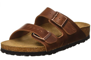BIRKENSTOCK Arizona Antique BROWN LEATHER 1016780  US 4 EU 35