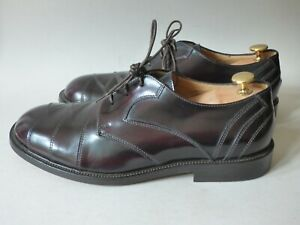 MEN'S NEW SOLATIO ITALY CHERRY RED NORTHERN SOUL MUSIC DANCE MOD SHOES BOX UK8 1