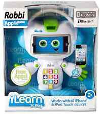 NEW-iLEARN n PLAY ROBBI ROBOT iphone ipod touch interactive bluetooth $49