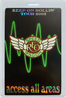 REO Speedwagon 2002 Keep On Rollin' Tour Laminated Backstage Pass All Access
