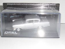 THE OPEL COLLECTION, 'OPEL OLYMPIA REKORD P1' IN SILVER ,mag part works. HH123
