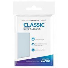 100 pochettes Classic Soft Sleeves standard Transparent Ultimate Guard Poke MTG