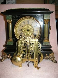 "SETH THOMAS  1905 ""ARNO""  MANTEL CLOCK WITH REBUILT 4 1/2"