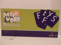 Patch Word Board Game-EUC-Complete-Homeschool-Learning-Free Shipping