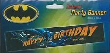THE BATMAN, GIANT BIRTHDAY PARTY BANNER ! Bigger & Better Size 150 X 30 CM !