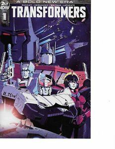 Transformers #1 1:10 Casey Coller Variant Cover NM SOLD OUT 1st Issue IDW