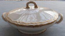 Theodore Haviland Schleiger 304 Gold Trim Covered Casserole Dish Romeo Blank