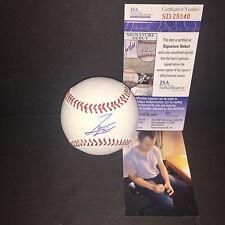 Jameson Taillon Pittsburgh Pirates JSA DEBUT COA Signed Autographed Baseball A