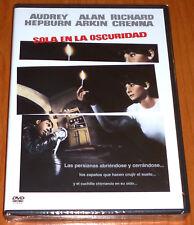 SOLA EN LA OSCURIDAD / WAIT UNTIL DARK English Deutsch Español DVD R2 Precintada
