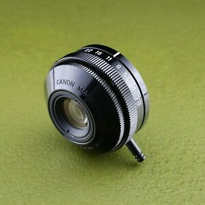 M20, metal Canon MACRO LENS 2.8 / 35 MINT condition Made in JAPAN, #20900 ☆☆☆☆