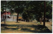 1907 Tunkhannock PA North Putnam Street House St. Wyoming Shook RARE DB Postcard