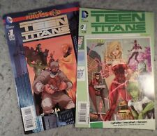 Dc Comics The New 52! Teen Titans #1 Futures End & #1 Newsstand Variant Edition